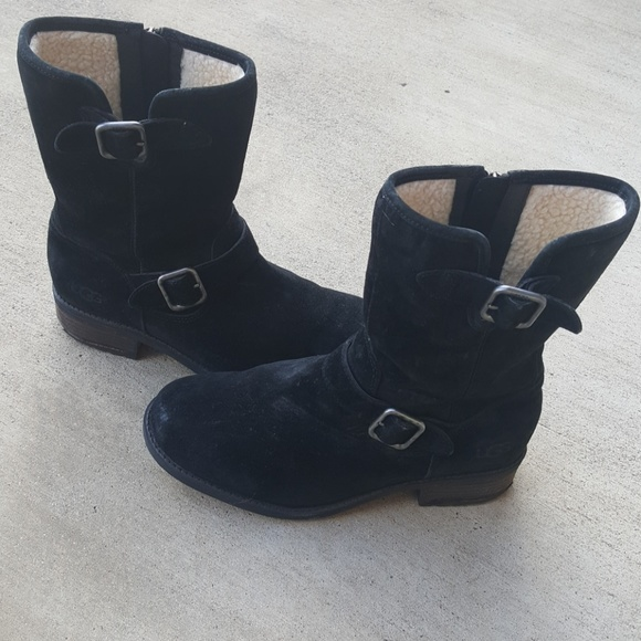 98d748cdaad Uggs Chaney Water Resistant Moto Boot